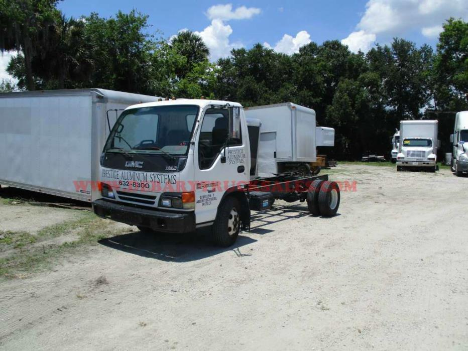 1996 Gmc W4500  Cab Chassis