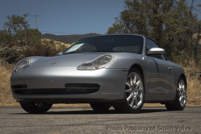 2001 Porsche 911 Carrera 2dr Carrera 4 Cabriolet 6-Speed Manual