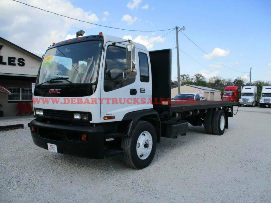 2007 Gmc T7500  Flatbed Truck