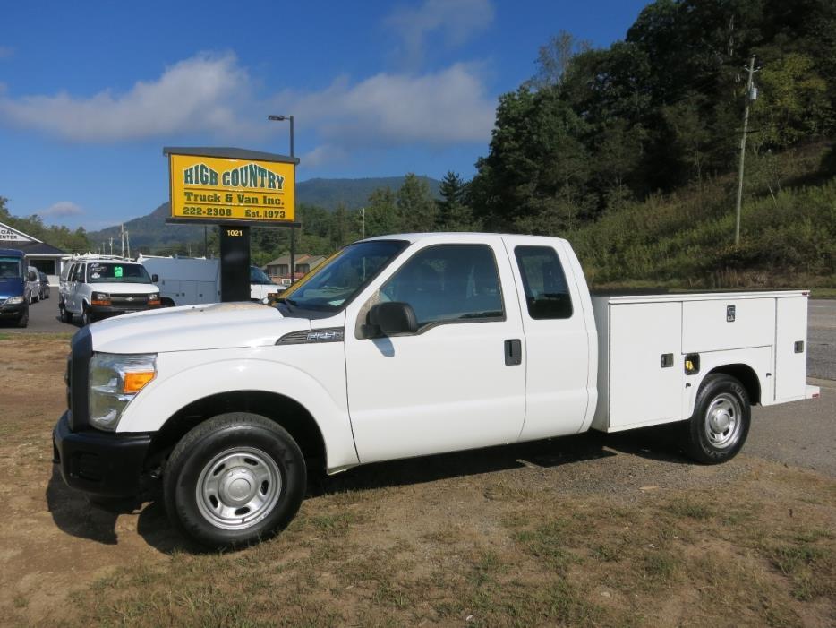 2012 Ford F250  Mechanics Truck
