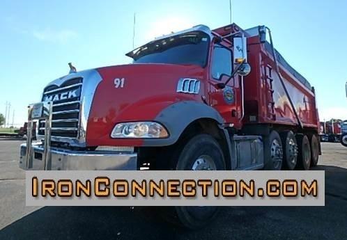 2015 Mack Granite Gu813 Dump Truck