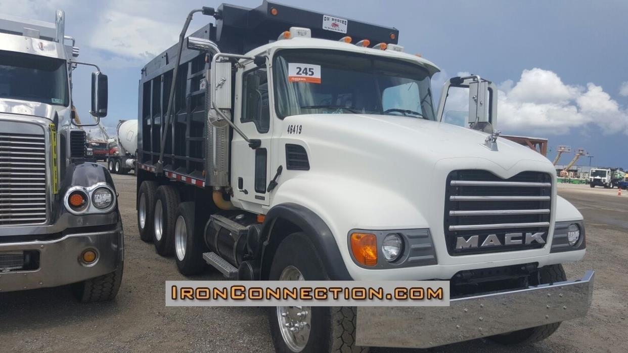 2006 Mack Granite Cv713 Dump Truck
