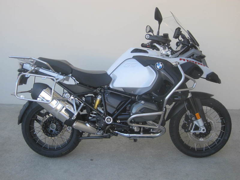 bmw r 1200 gs adventure premium light white motorcycles for sale. Black Bedroom Furniture Sets. Home Design Ideas