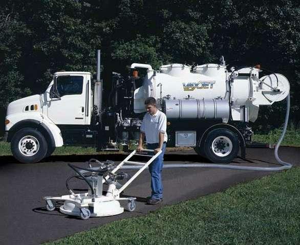 2001 Vactor Vaxjet - Sewer  Tanker Trailer