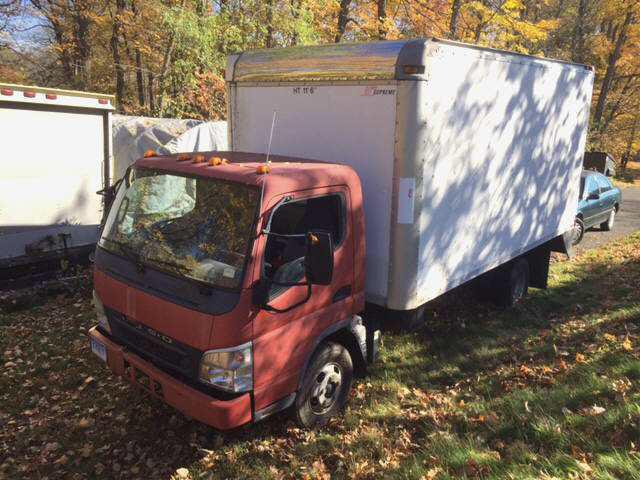 2005 Mitsubishi Fe120 Box Truck - Straight Truck