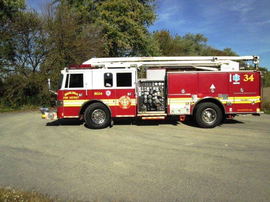 1994 Pierce Lance 2000  Fire Truck