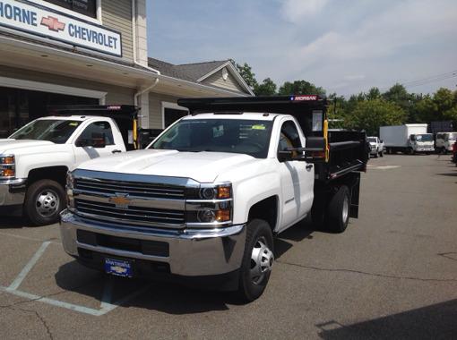 2016 Chevrolet 3500 Drw Dump Truck