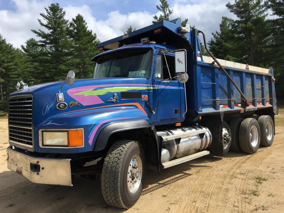 1996 Mack Cl713 Dump Truck