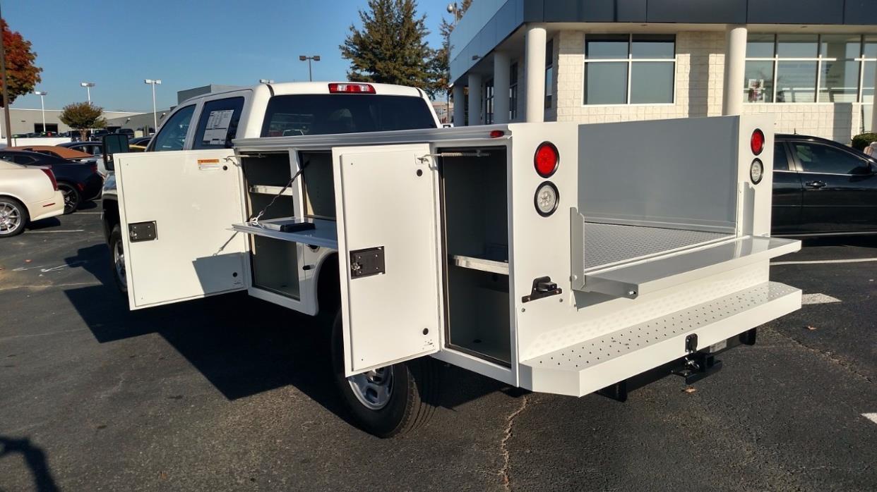 2016 Gmc Sierra 2500 Hd Utility Truck - Service Truck