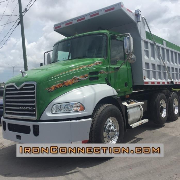 2008 Mack Vision Dump Truck