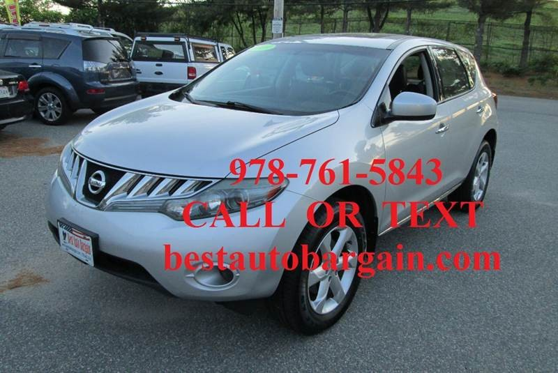 2009 nissan murano suv cars for sale. Black Bedroom Furniture Sets. Home Design Ideas