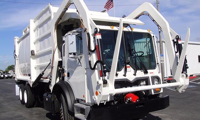 2017 Mack Mru613 Garbage Truck