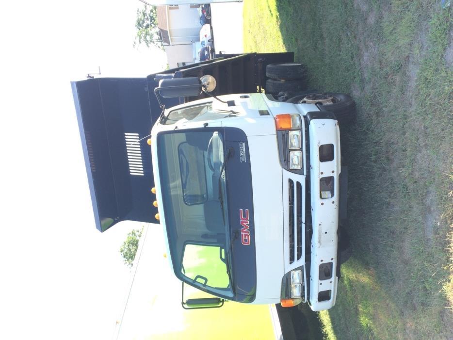 2005 Gmc W4000 Dump Truck