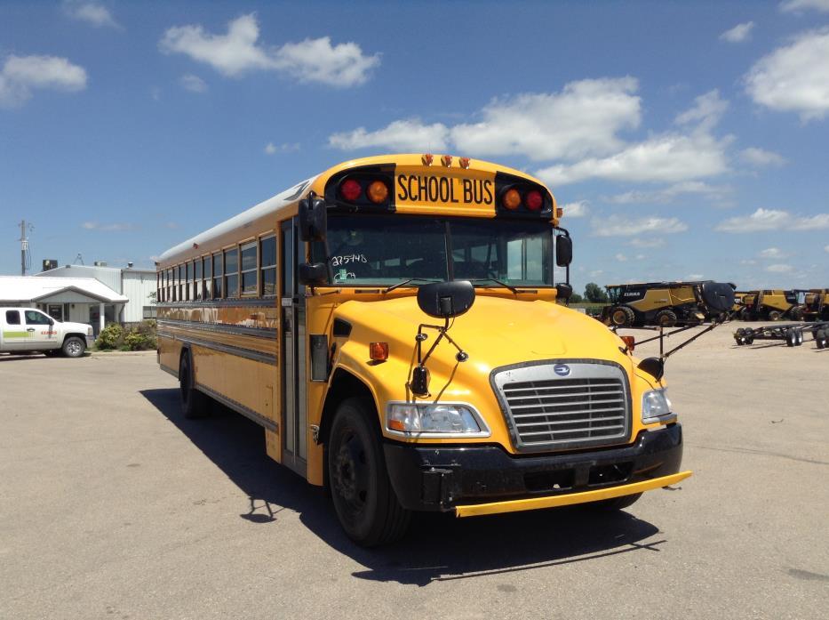 2013 Bluebird Vision Bus