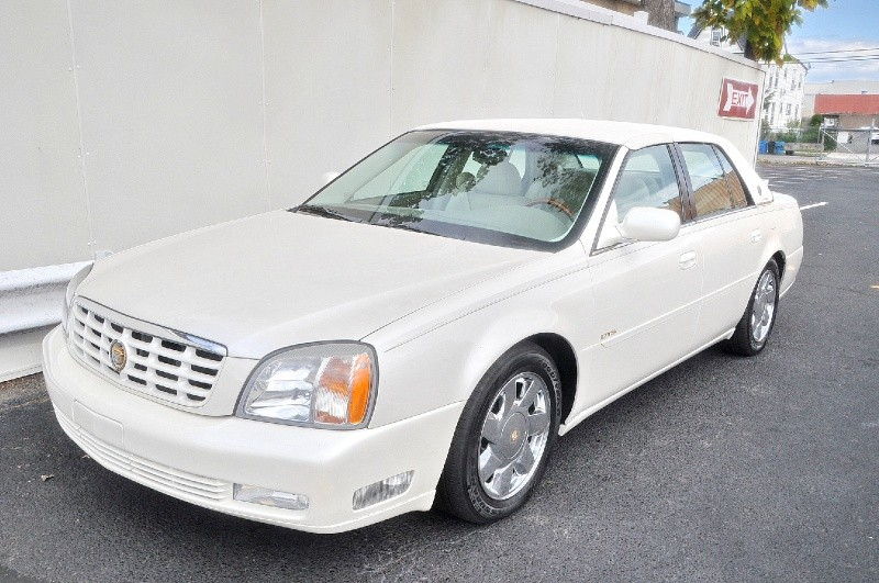 2000 Cadillac DeVille DTS WHITE CHROME WOOD LOW MILES