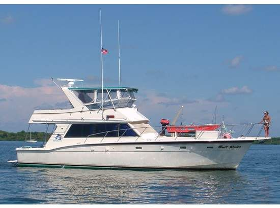 Hatteras Yachts 58 Yacht Fisherman Boats For Sale