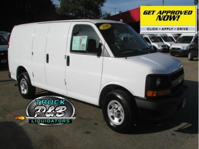 2016 Chevrolet Express Cargo Van RWD 2500 4.8L V8,DoubleDoors,Clean,Work Ready!