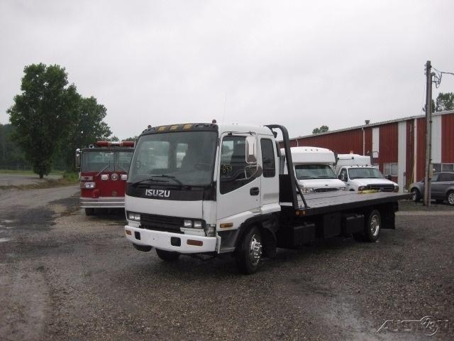 2001 Isuzu Frr  Flatbed Truck