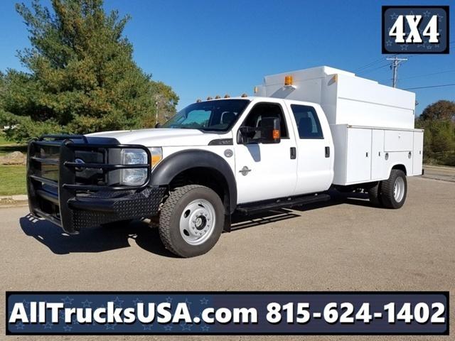 2012 Ford F550 4x4  Utility Truck - Service Truck