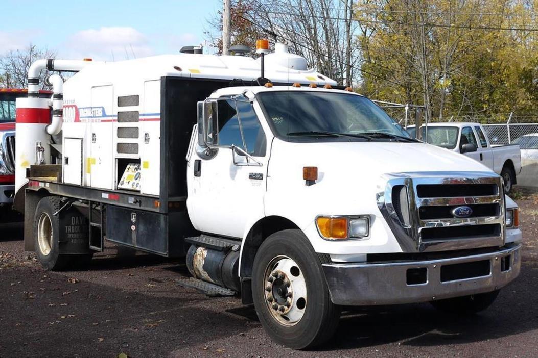 2007 Ford F650 Vacuum Truck