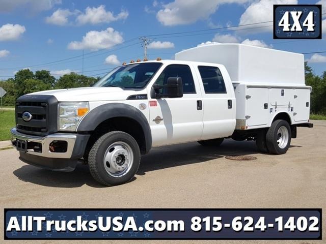 2011 Ford F550 4x4  Utility Truck - Service Truck