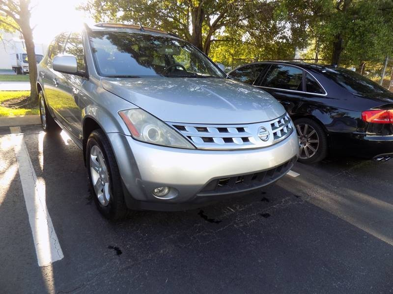 nissan murano 2004 cars for sale. Black Bedroom Furniture Sets. Home Design Ideas
