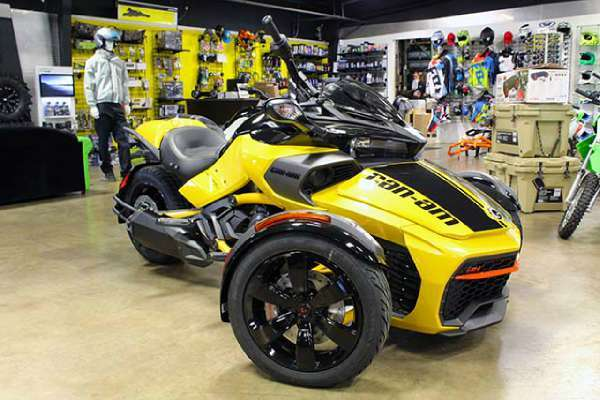 Can Am Spyder F3 S Daytona 500 6 Speed Semi Aut Motorcycles for sale