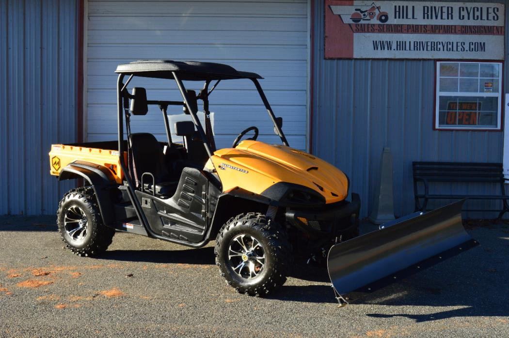 2016 Massimo ALLIGATOR 700 EPS WITH SNOW PLOW