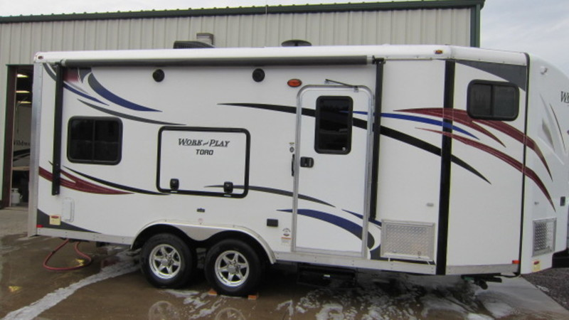 Work And Play Toy Hauler >> Forest River Work And Play 21vfb Rvs For Sale