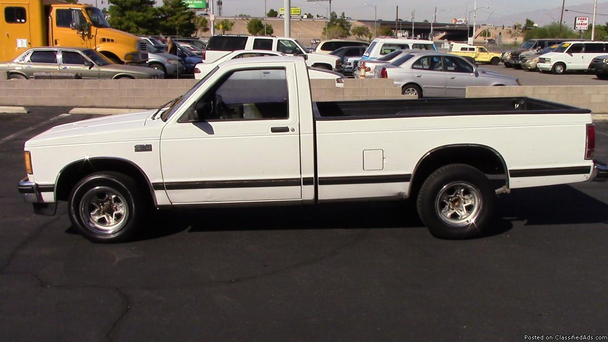 Chevy s10 trucks for sale
