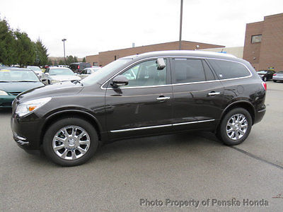 2013 Buick Enclave FWD 4dr Leather FWD 4dr Leather SUV Automatic Gasoline V6 Cyl BROWN