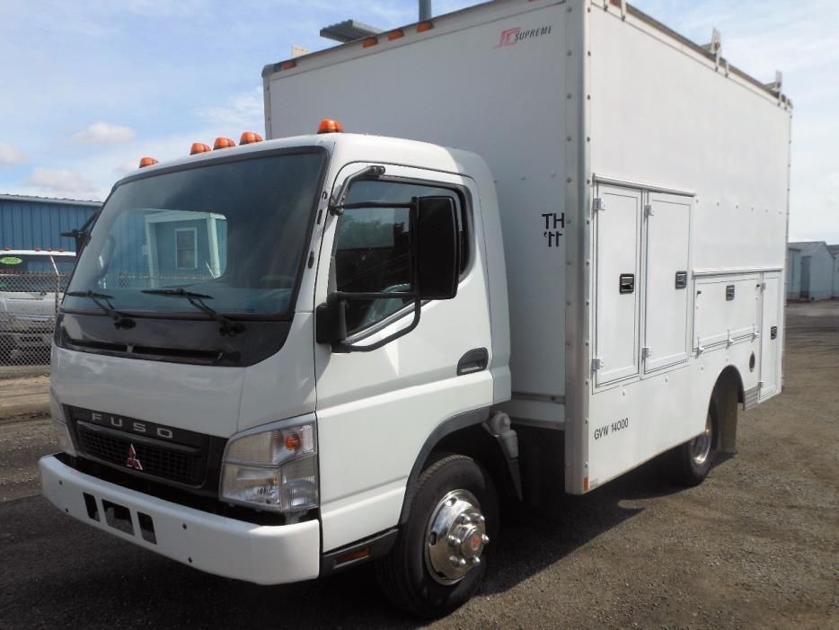 2007 Mitsubishi Fuso Fe140  Utility Truck - Service Truck