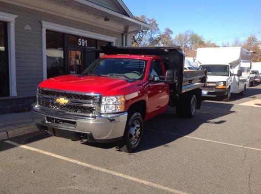 2014 Chevrolet 3500 Drw Dump Truck