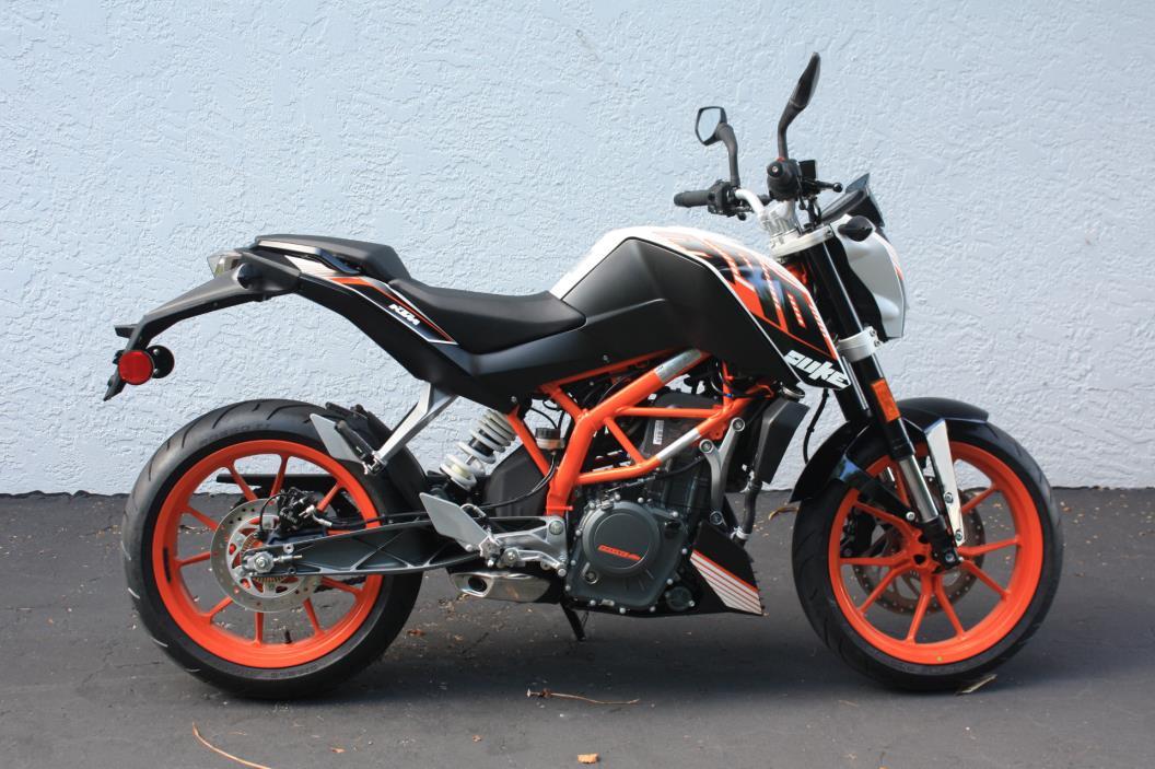 ktm 390 duke motorcycles for sale in fort myers florida. Black Bedroom Furniture Sets. Home Design Ideas