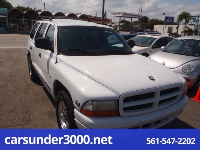 1999 Dodge Durango 4dr