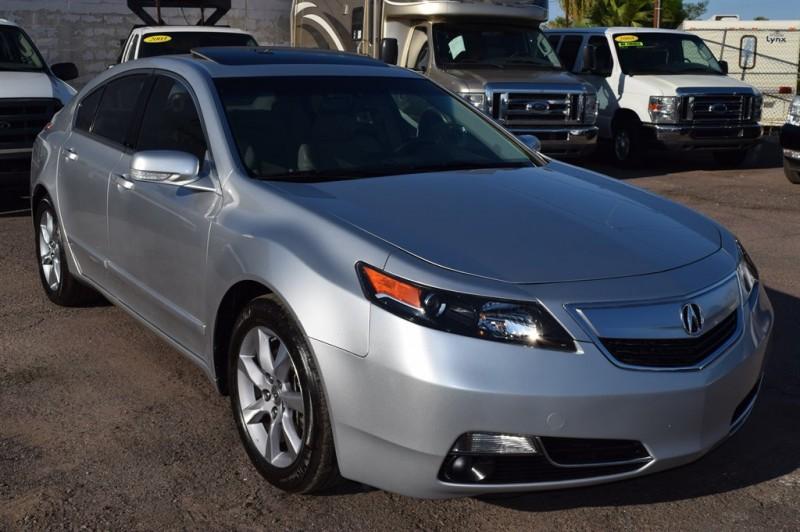 2012 Acura TL w/Tech 4dr Sedan w/Technology Package