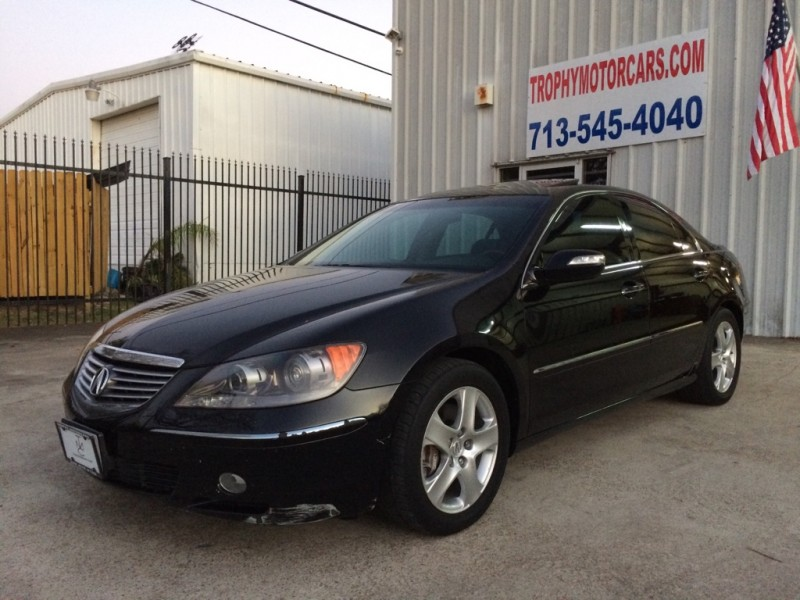 2007 Acura RL Tech Package, Navigation, Leather, Sunroof, LOADED! Save Thousands!
