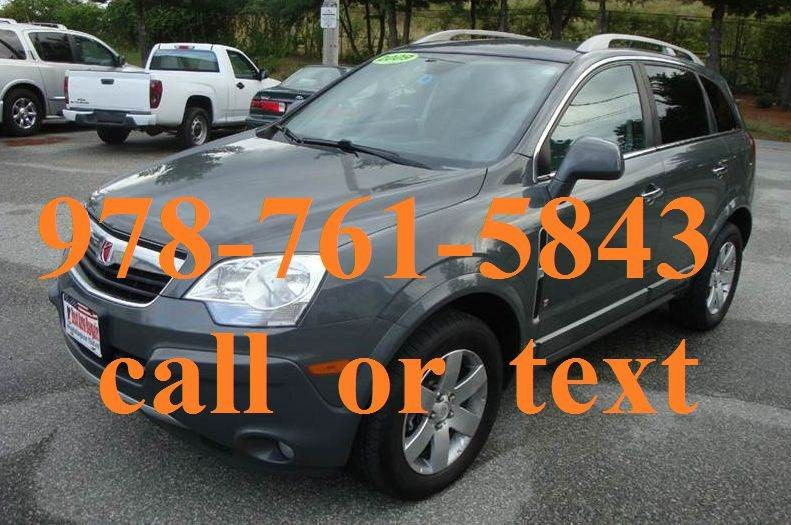 2009 saturn vue xr cars for sale for Motor vehicle lowell ma