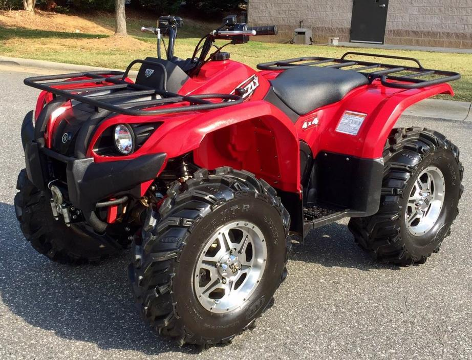 2008 yamaha grizzly 450 motorcycles for sale