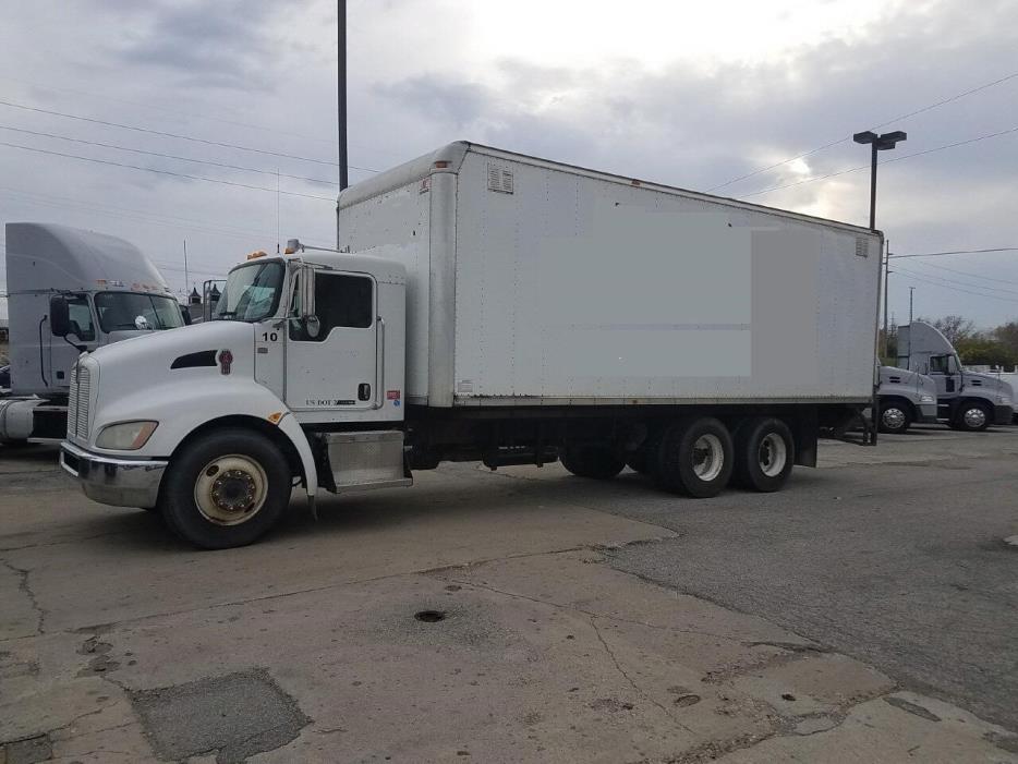 2009 Kenworth T370 Box Truck - Straight Truck