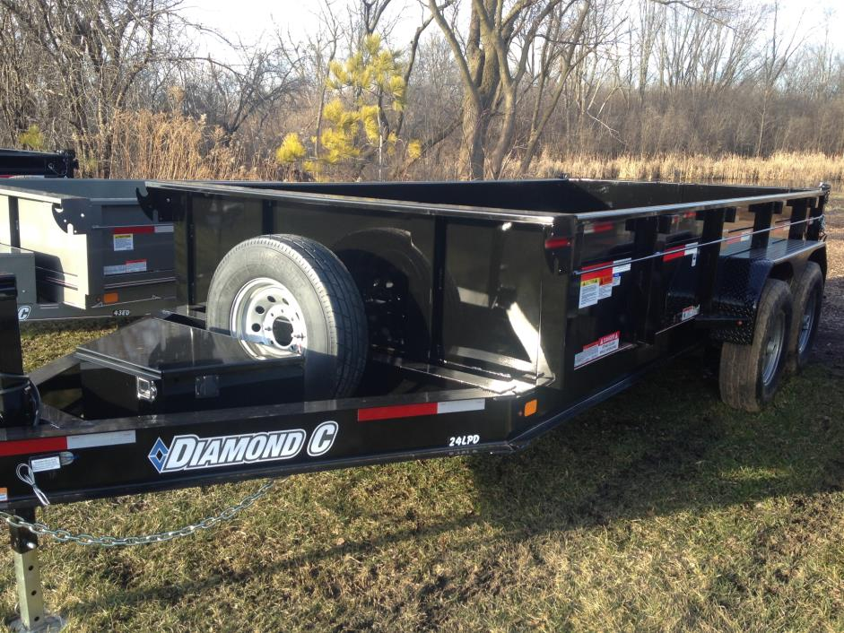 2016 Diamond C DUMP TRAILER