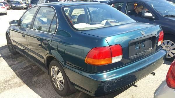 1996 Honda Civic 4dr Sdn LX O Auto w/Air