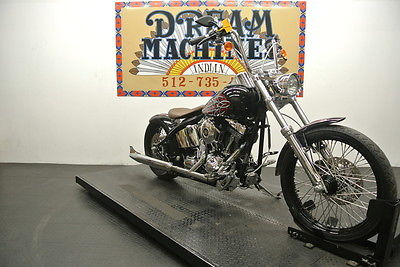 Custom Built Motorcycles Chopper  2008 Thunder Mountain Custom Sterling *We Ship & Finance*