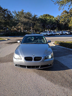 2004 BMW 5-Series  2004 BMW  525i Sport Package RARE 6 SPEED MANUAL!!
