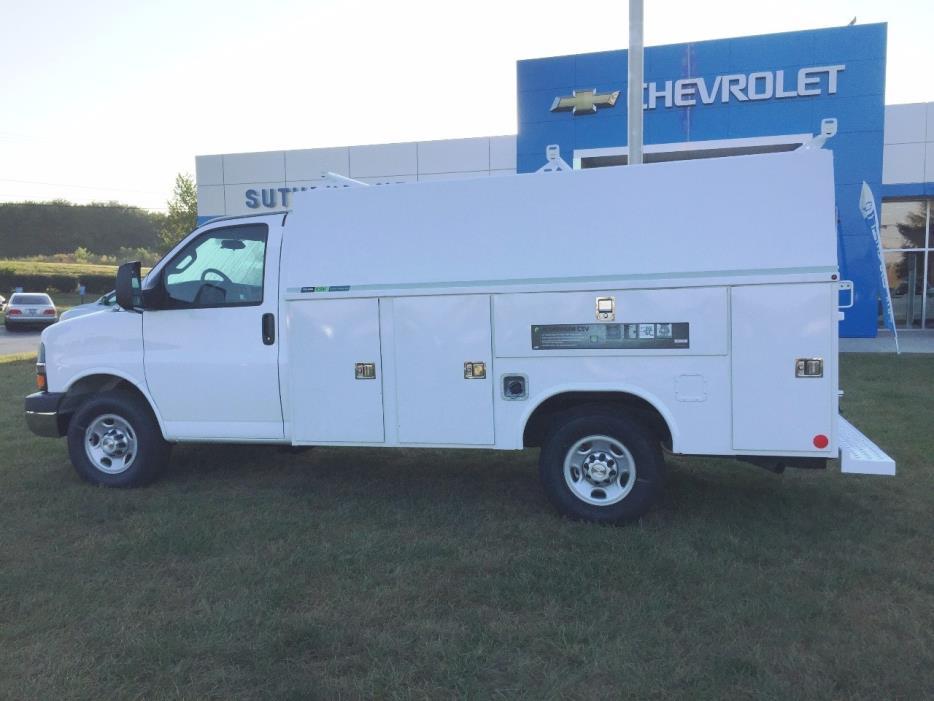 2016 Chevrolet Express 3500 Mechanics Truck
