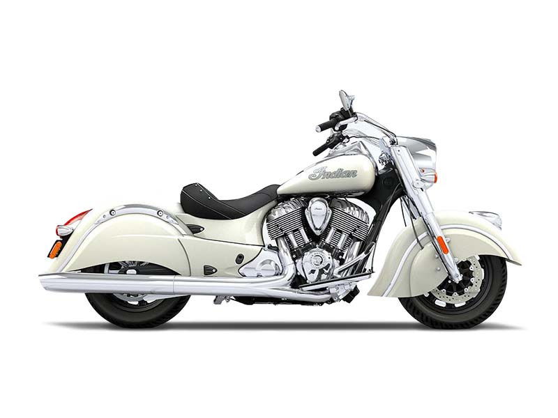 2016 Indian Chief Vintage Willow Green and Ivory Cre