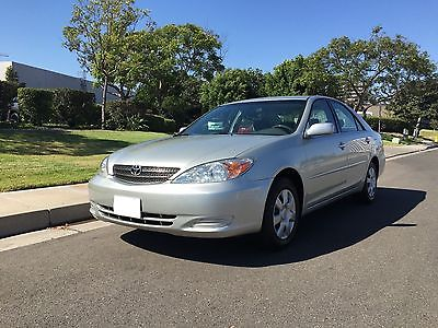 2002 Toyota Camry Le 2002 Toyota Camry