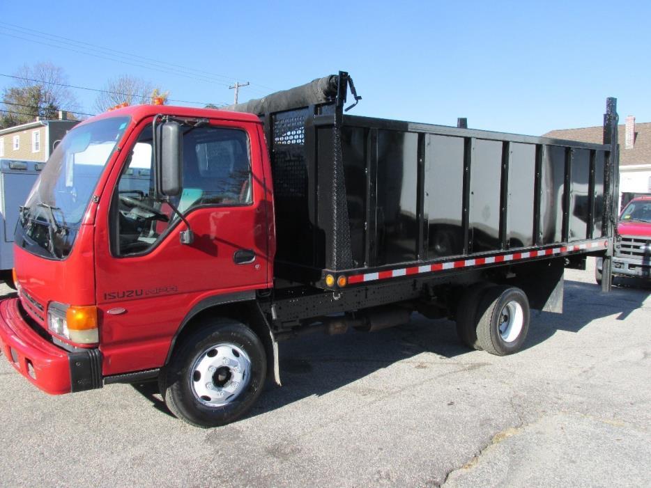 2005 Isuzu Mpr  Dump Truck