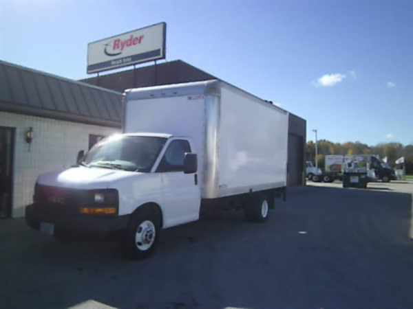 2011 Gmc Tg33903 Box Truck - Straight Truck