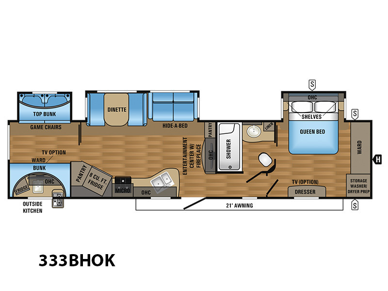 jayco eagle travel trailers 333bhok rvs for sale in mayfield kentucky. Black Bedroom Furniture Sets. Home Design Ideas